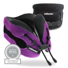 Chladící podhlavník Cabeau Evolution Cool Barva: fialová