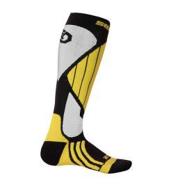 Podkolenky Sensor Snow Pro Velikost ponožek: 35-38 / Barva: černá/žlutá