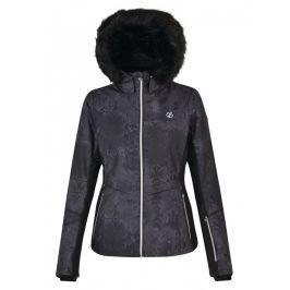 Dámská bunda Dare 2b Iceglaze Jacket Velikost: XL (16) / Barva: černá