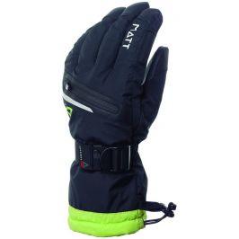 Pánské lyžařské rukavice Matt 3191 Hendel Tootex Velikost rukavic: M / Barva: černá/zelená