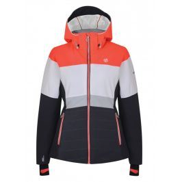 Dámská bunda Dare 2b Avowal Jacket Velikost: XL (16) / Barva: černá/červená