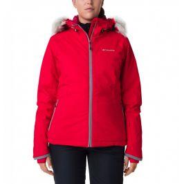 Dámská bunda Columbia Alpine Slide Jacket Velikost: S / Barva: červená