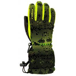 Dětské rukavice Relax Puzzy Velikost rukavic: 4-6 / Barva: černá/žlutá
