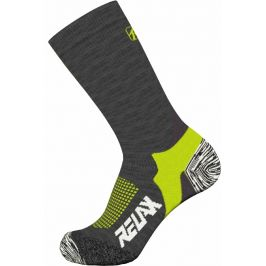Ponožky Relax Nordic Velikost ponožek: 47-48 / Barva: černá/žlutá