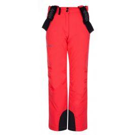 Dětské kalhoty Kilpi Elare-JG Dětská velikost: 134 / Barva: růžová