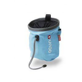 Pytlík na magnézium Ocún Push + pásek Ocún Chalk Bag Belt Barva: modrá/šedá