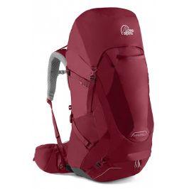 Dámský batoh Lowe Alpine Manaslu ND 50:65 Velikost zad batohu: S/M / Barva: červená