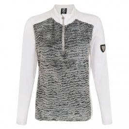 Dámská mikina Dare 2b Impearl Sweater Velikost: XS / Barva: šedá/bílá