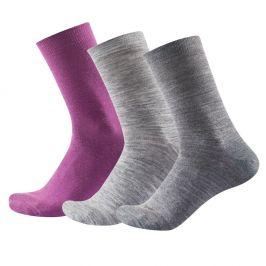 Dámské ponožky Devold Daily Light Woman Sock 3PK Velikost ponožek: 36-40