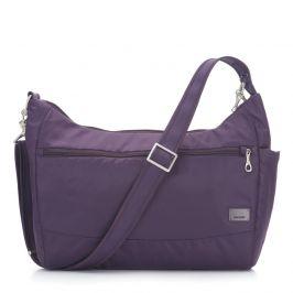 Bezpečnostní kabelka Pacsafe Citysafe CS200 Barva: fialová