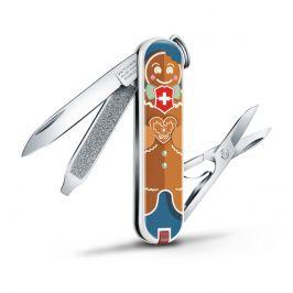 Kapesní nůž Victorinox Classic LE Gingerbread Love Barva: hnědá