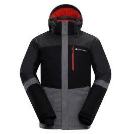 Pánská lyžařská bunda Alpine Pro Sardar 2 Velikost: S / Barva: černá