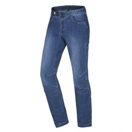 Pánské kalhoty Ocún Hurrikan Jeans Velikost: XL / Barva: modrá