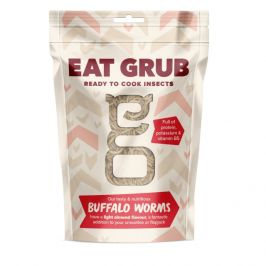 Jedlí červi Eat Grub Buffalo Worms 45g