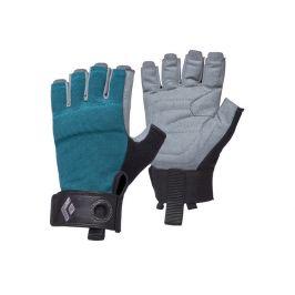 Dámské rukavice Black Diamond W'S Crag Half-Finger Gloves Velikost rukavic: XS / Barva: modrá