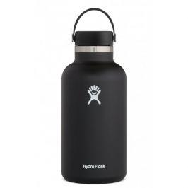 Láhev Hydro Flask Wide Mouth 64 oz (1892 ml) Barva: černá