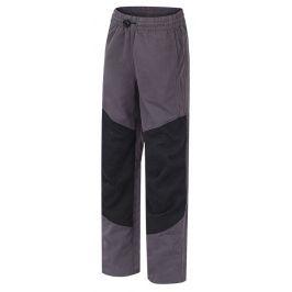 Dětské kalhoty Hannah Twin JR Dětská velikost: 128 / Barva: tmavě šedá