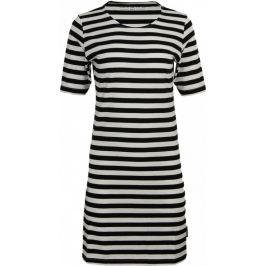 Šaty Alpine Pro Ekra Velikost: L / Barva: černá/bílá
