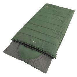 Spacák Outwell Contour Lux XL Barva: zelená/šedá