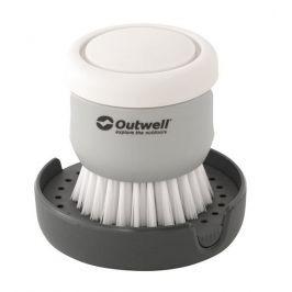 Kartáč Outwell Kitson Brush with Soap Dispenser Barva: šedá