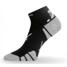 Ponožky Lasting RUN Velikost ponožek: 34-37 (S) / Barva: černá