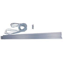 Set segmentů Vango Alloy Pole Set 8.5mm Barva: šedá