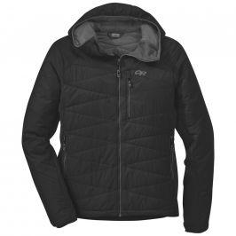 Pánská bunda Outdoor Research Men's Cathode Hooded Jacket Velikost: M / Barva: černá