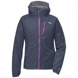 Dámská bunda Outdoor Research Women's Helium II Jacket Velikost: S / Barva: šedá/fialov