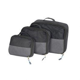 Cestovní organizér Bo-Camp Travel Pack Cubes 3 Barva: černá