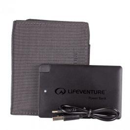 Peněženka s powerbankou Lifeventure RFiD Charger Wallet Barva: šedá
