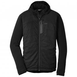 Pánská bunda Outdoor Research Men's Deviator Hoody Velikost: M / Barva: černá/šedá