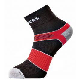 Ponožky Progress CYC 8CE Cycling Velikost ponožek: 35-38 (3-5) / Barva: černá/červená