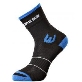 Ponožky Progress WLK 8HD Walking Velikost ponožek: 35-38 (3-5) / Barva: černá/modrá