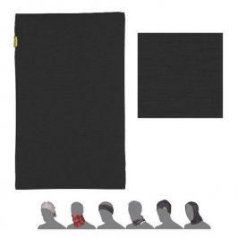 Šátek Sensor Tube Merino Wool Barva: černá