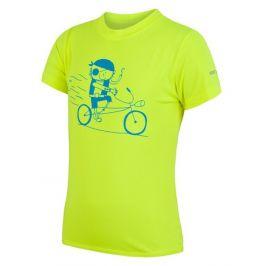 Dětské funkční triko Sensor Coolmax Fresh PT Pirate Dětská velikost: 120 / Barva: žlutá