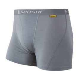 Pánské boxerky Sensor Merino Wool Active šedé Velikost: M / Barva: šedá