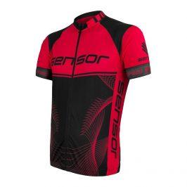 Pánský cyklistický dres Sensor Cyklo Team Up Velikost: L / Barva: černá/červená