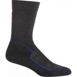 Pánské ponožky Icebreaker Mens Hike+ Medium Crew Velikost ponožek: 42-44 / Barva: šedá