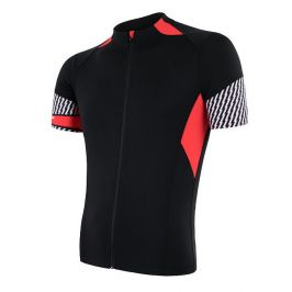 Pánský cyklistický dres Sensor Cyklo Race Velikost: M / Barva: černá