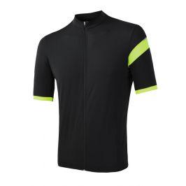 Pánský cyklistický dres Sensor Cyklo Classic Velikost: M / Barva: černá