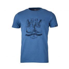 Pánské triko Northfinder Kristjano Velikost: M / Barva: modrá