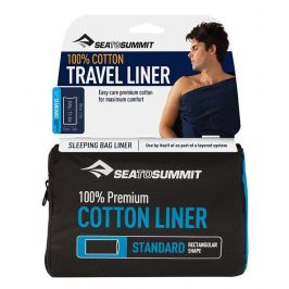 Vložka do spacáku Sea to Summit Cotton Standard Barva: modrá