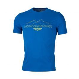 Pánské triko Northfinder Tohty Velikost: L / Barva: modrá