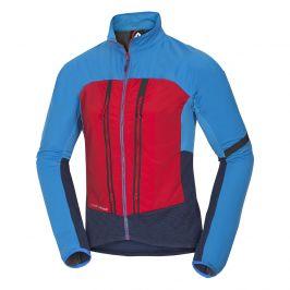 Pánská bunda Northfinder Styhl Velikost: M / Barva: modrá/červená