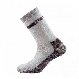 Ponožky Devold Outdoor heavy sock Velikost: 41-43 / Barva: šedá