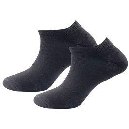 Nízké ponožky Devold Daily Shorty Sock 2pck Velikost ponožek: 36-40 / Barva: černá