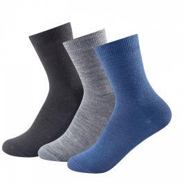 Dětské ponožky Devold Daily Light Kid Sock 3pk Velikost ponožek: 28-30