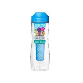 Láhev Sistema Tritan Infuser Bottle 800ml Barva: modrá