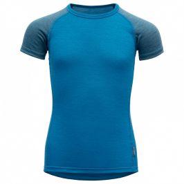 Dětské triko Devold Breeze Kid T-Shirt Dětská velikost: 128 / Barva: modrá