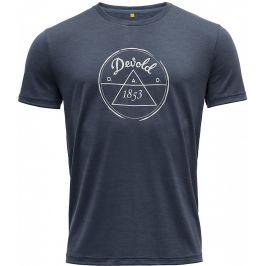 Pánské triko Devold 1853 Man Tee Velikost: M / Barva: černá